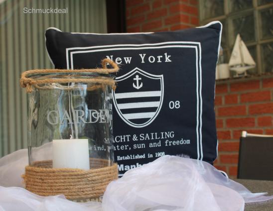 Kissen Maritim exklusiv glaszylinder 1 kissen maritim ebay